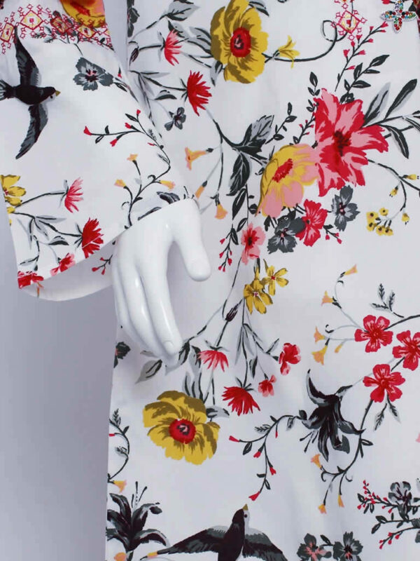 Birds Vines Dress1