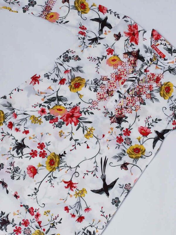 Birds Vines Dress4
