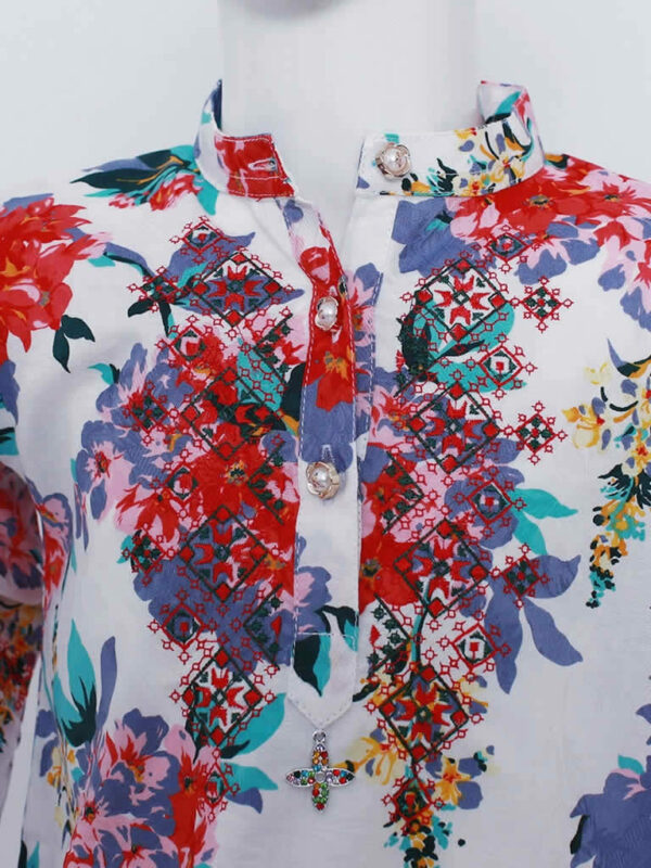 Bountiful Blooms Floral Dress2