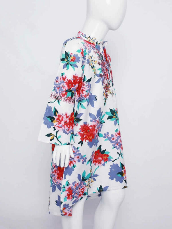 Bountiful Blooms Floral Dress4