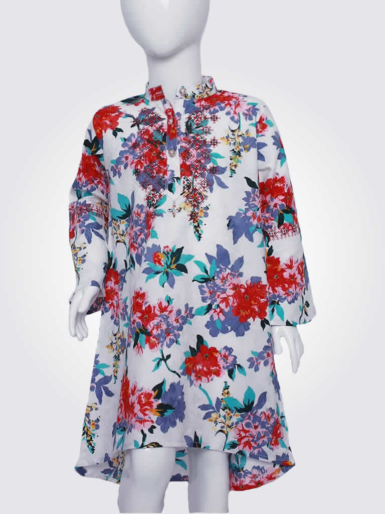 Bountiful Blooms Floral Dress