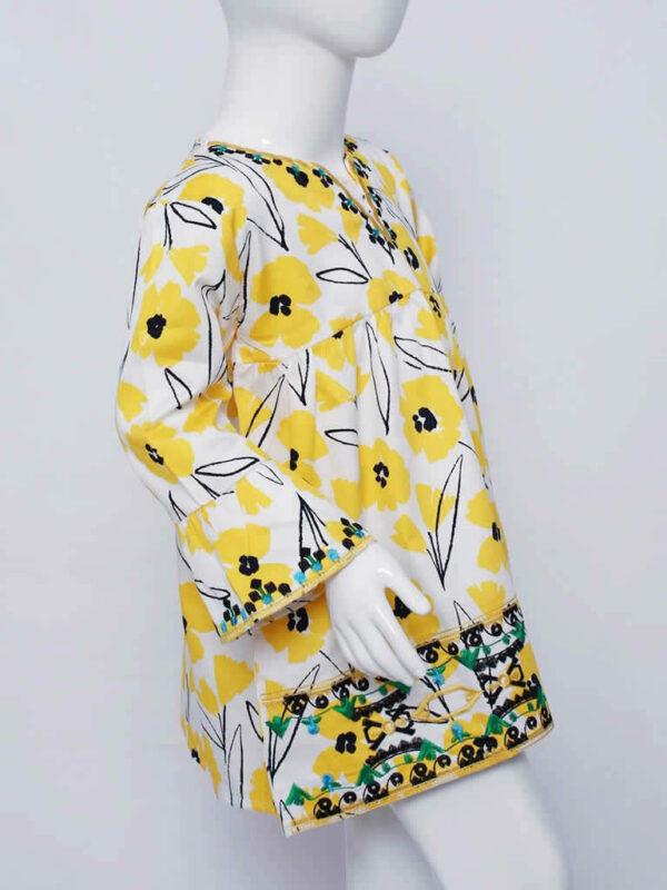 Sunny Yellow Poppy Top1