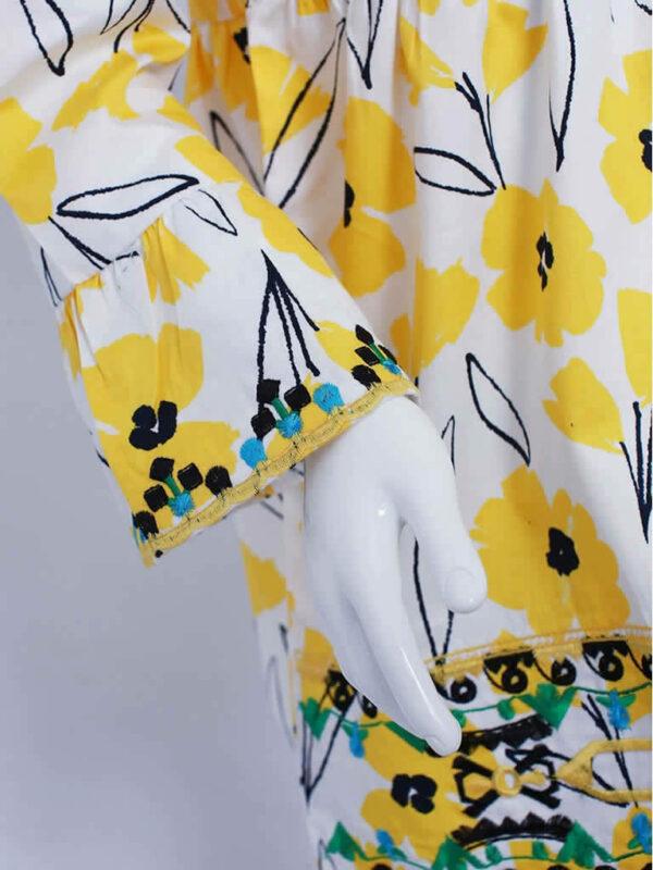 Sunny Yellow Poppy Top2