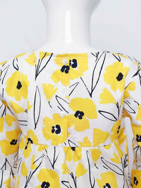 Sunny Yellow Poppy Top 3