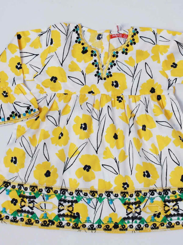Sunny Yellow Poppy Top 5